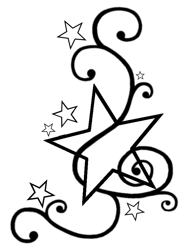 Large Star Template Printable - Cliparts.co