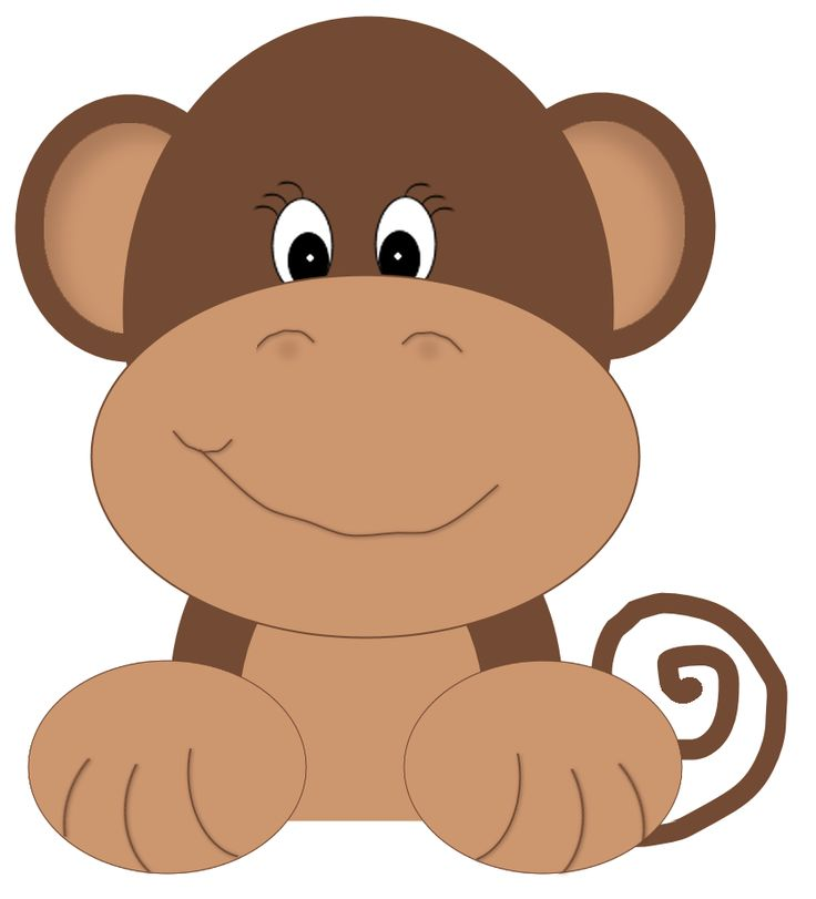 Monkey Clip Art For Baby Shower Cliparts Co