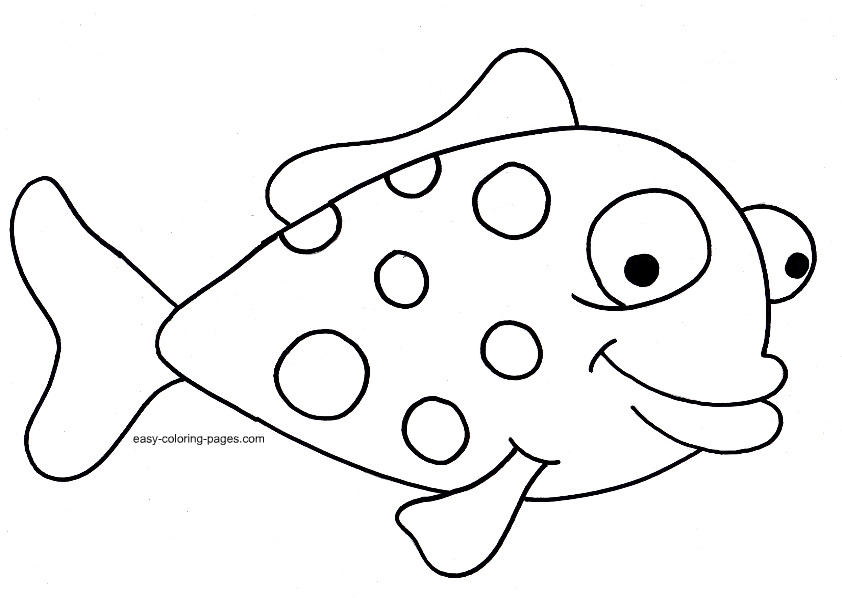 Get This Printable Rainbow Fish Coloring Sheets For Kids 6dve4 ... | 598x842