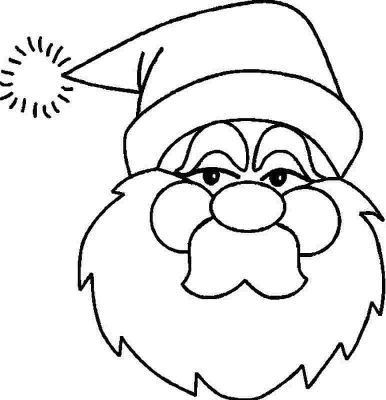 Printable Free Christmas Santa Claus Coloring Pages For Kids - #