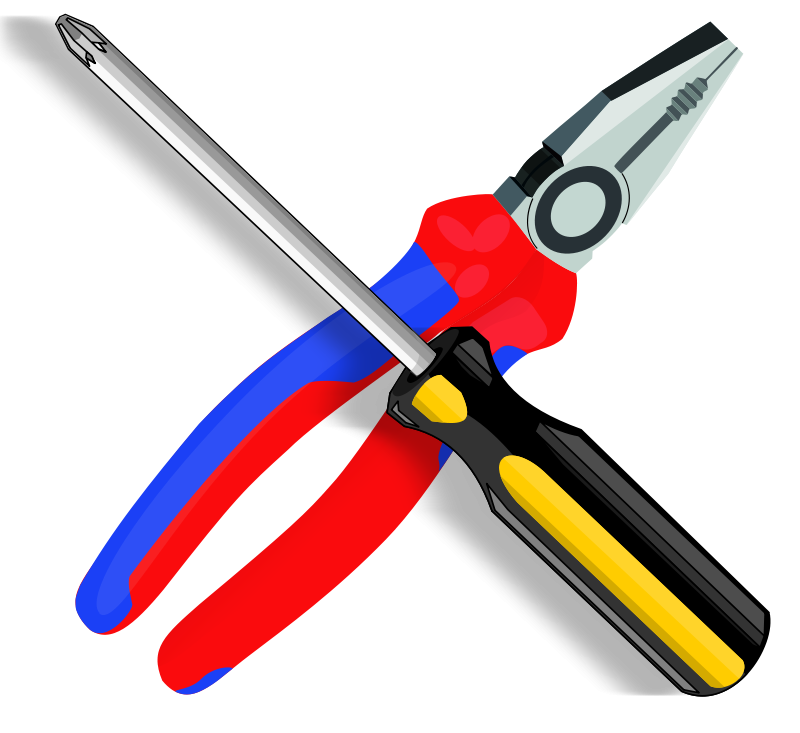 Wrench clip art - Clipart bricolage ...