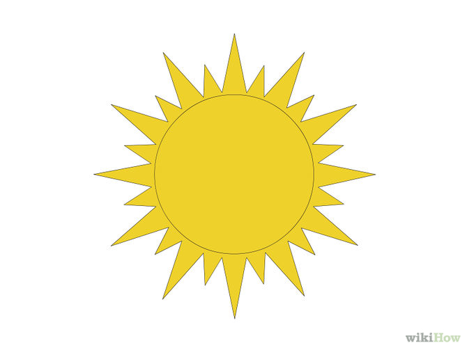 Sun Drawing - Cliparts.co