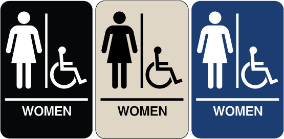 Bathroom Signs Ada - Best Bathroom 2017