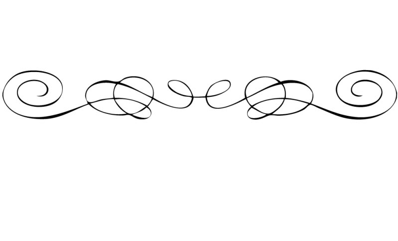 Line Art Word : Scroll line clipart cliparts