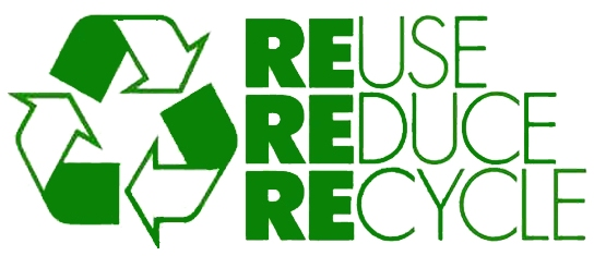 Reduce Reuse Recycle Logo - Cliparts.co