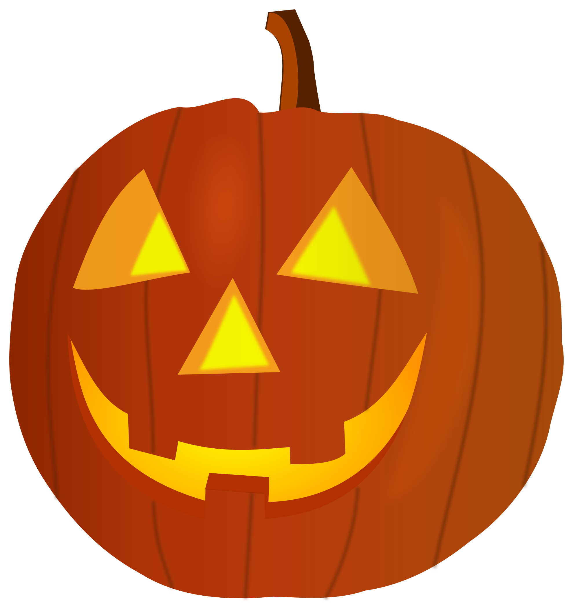 Happy Halloween Pumpkin Clipart | Clipart Panda - Free Clipart Images