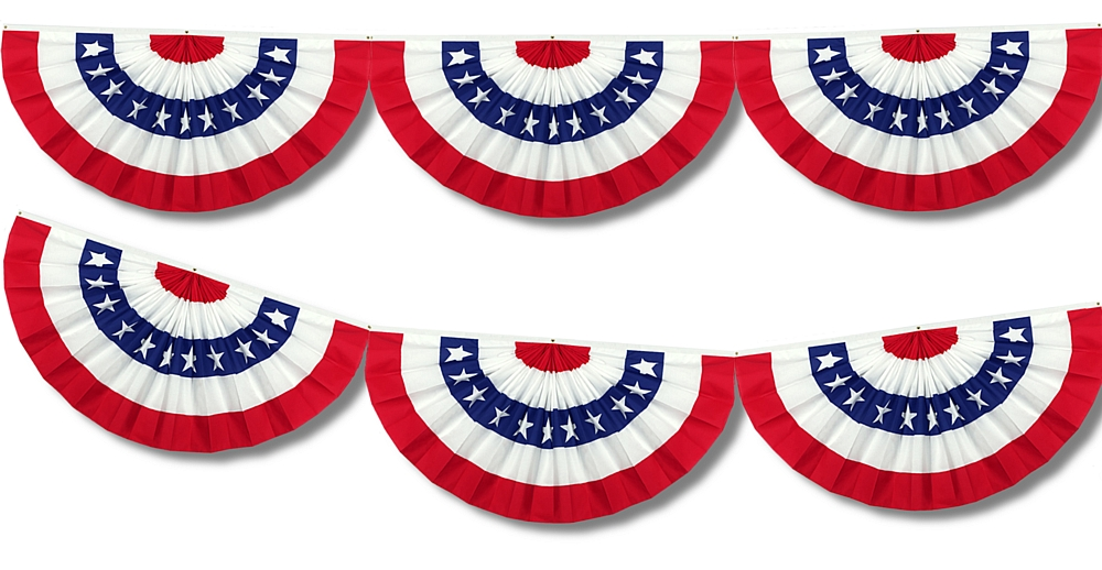 Pix For > American Flag Bunting