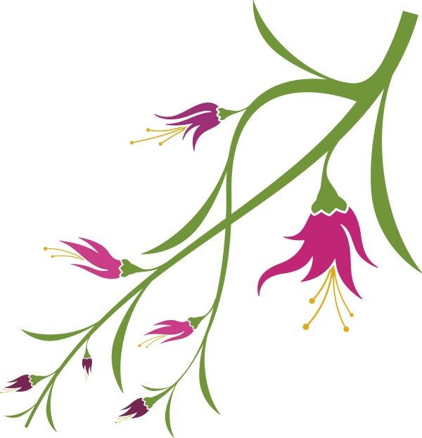 vector clipart flowers - photo #16