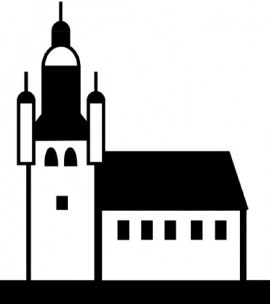 Church Buildings clip art Vector | Free Download