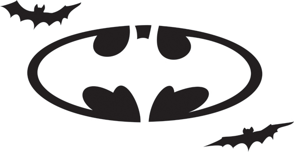 printable batman logo cliparts co