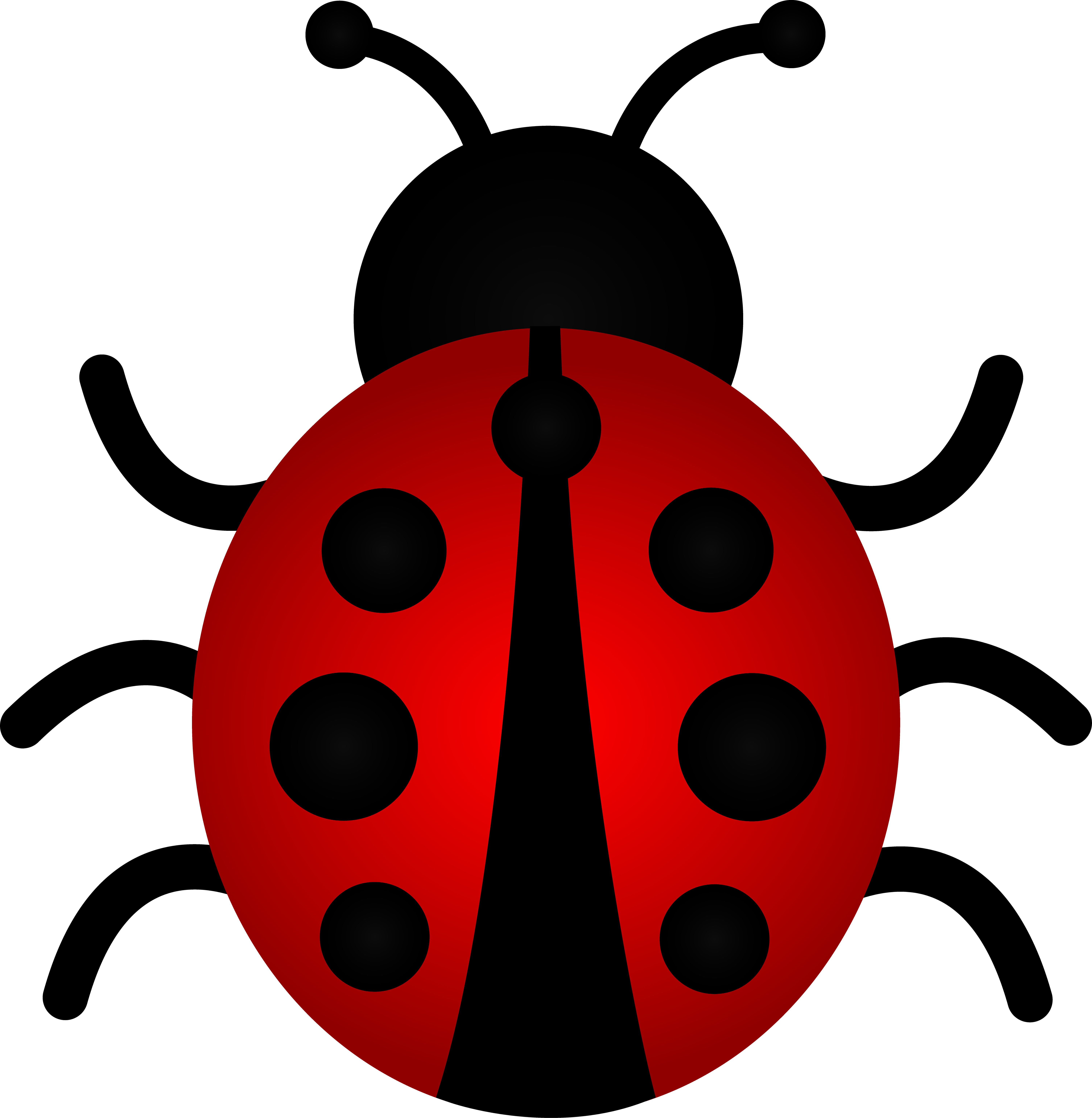 Red Ladybug Clip Art | Clipart Panda - Free Clipart Images