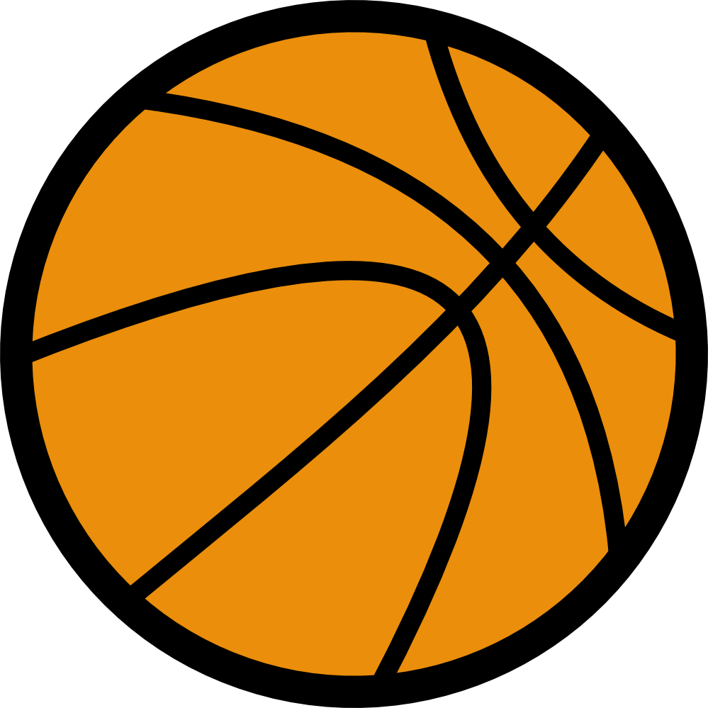 Black And White Basketball Clipart - Cliparts.co