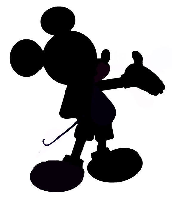 Mickey Mouse Silhouette Clip Art - Cliparts.co