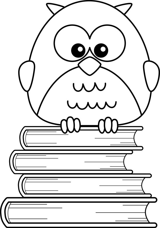 Halloween Owl Free Printable Coloring Page | Fun365 | 960x677