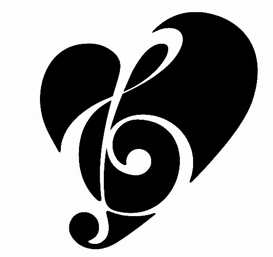 Music Note And Heart Tattoo Car Tuning