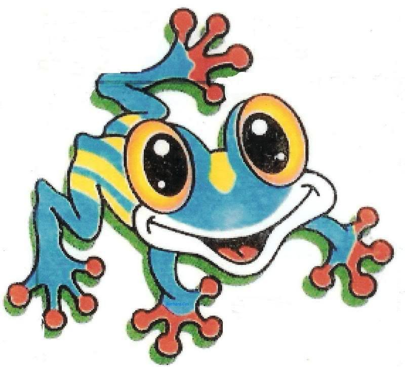 Frog Tattoo Images