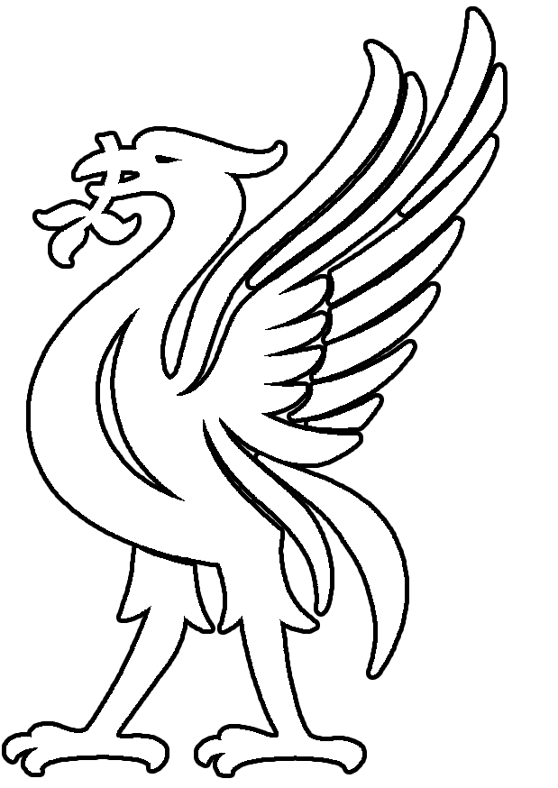 how to draw liverpool fc logo