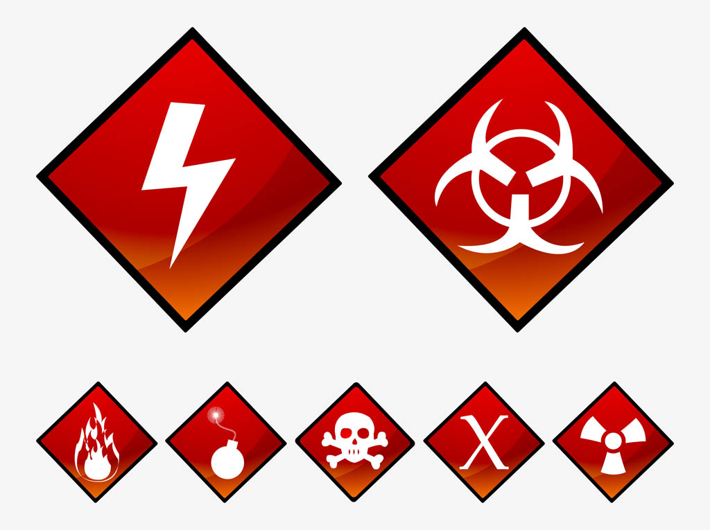 Danger Symbols Clip Art - Cliparts.co