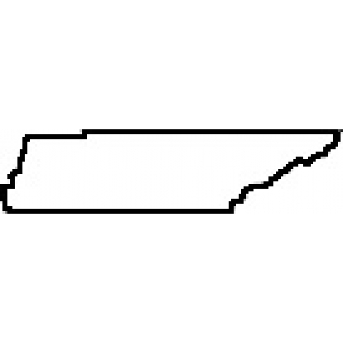 Tennessee State Outline Clipart
