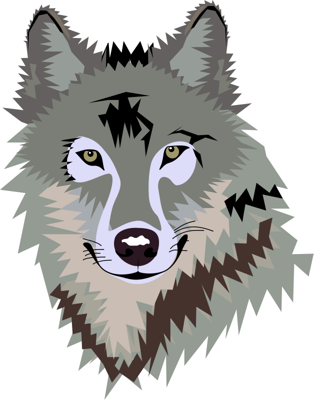 Howling Wolf Clipart