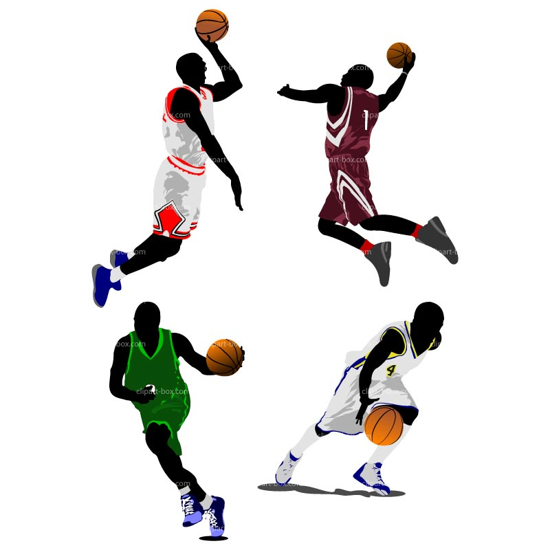 Basketball Pictures Clip Art | StickyPictures