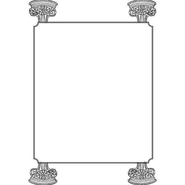 Medieval Border Designs - Cliparts.co