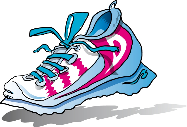 Nike Running Shoes Clipart | Clipart Panda - Free Clipart Images