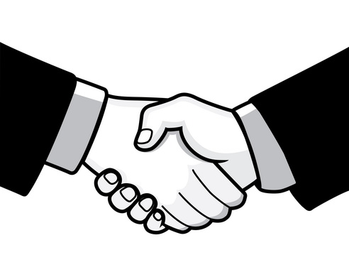 Hands shaking picture clipart best - Hand Shaking Images Cliparts Co