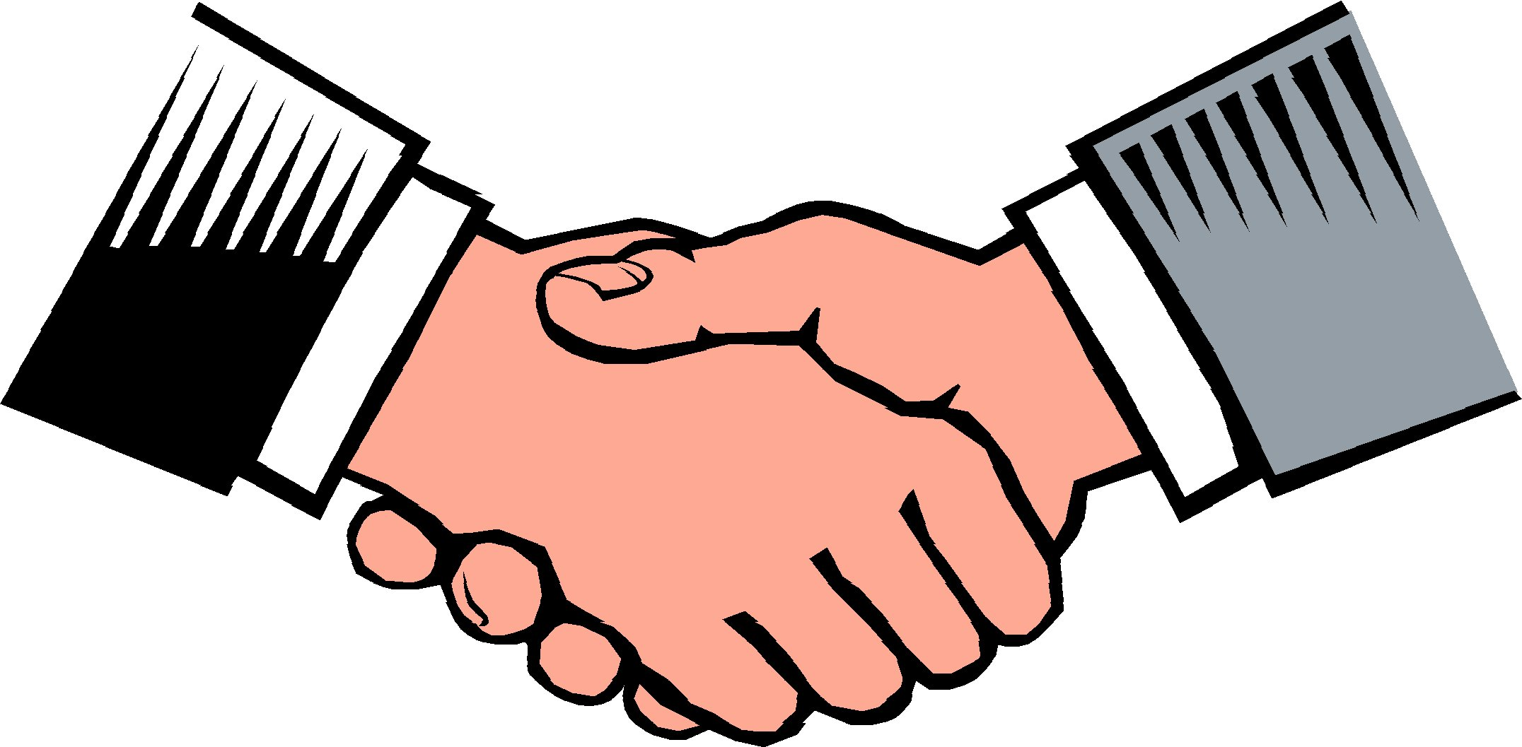 Shaking Hands Clip Art Free - Cliparts.co