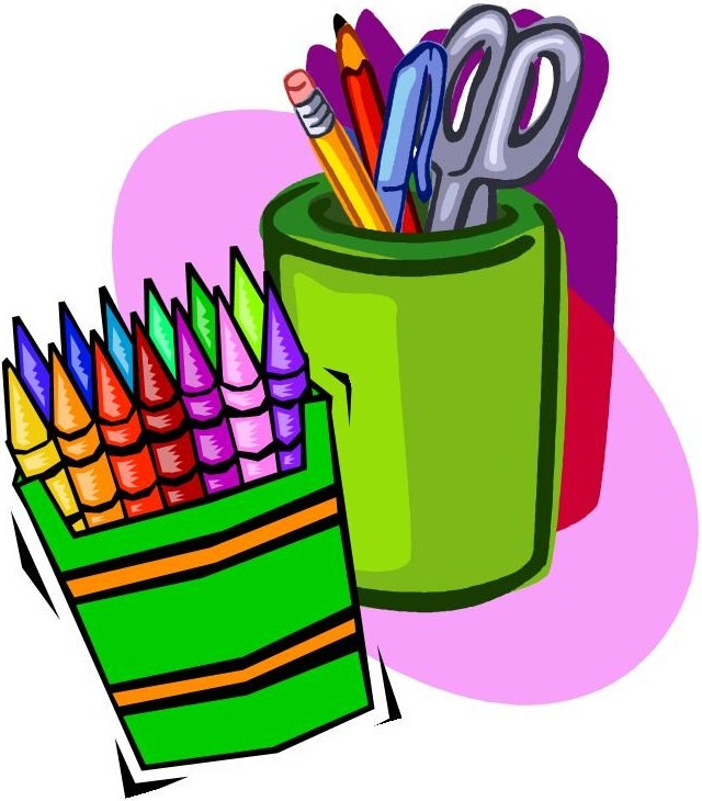 School Supplies List 5th Grade | Clipart Panda - Free Clipart Images