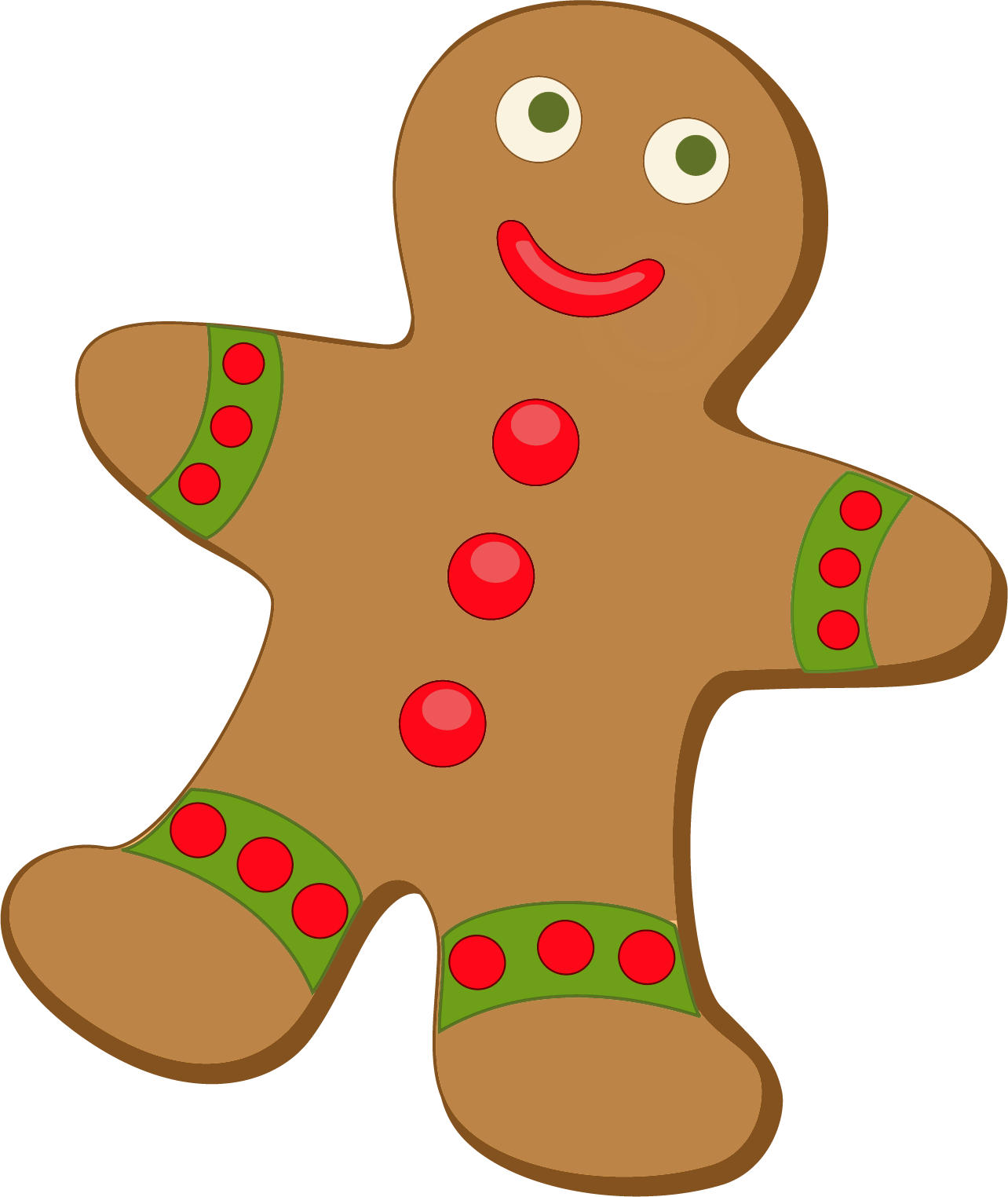 Gingerbread Clip Art - Cliparts.co
