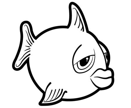 Fish Outline | animalgals