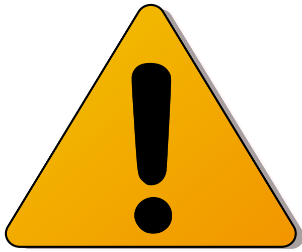 Caution Sign Clipart - Cliparts.co