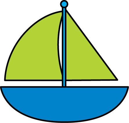 Sail Boat Clip Art - Cliparts.co