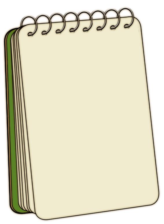 Notepad Clip Art Cliparts Co