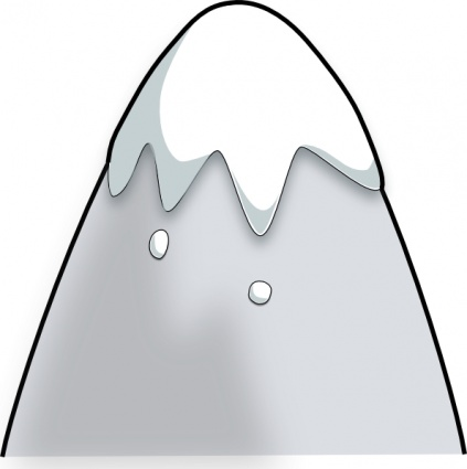 Kliponius Mountain In A Cartoon Style clip art - Download free ...