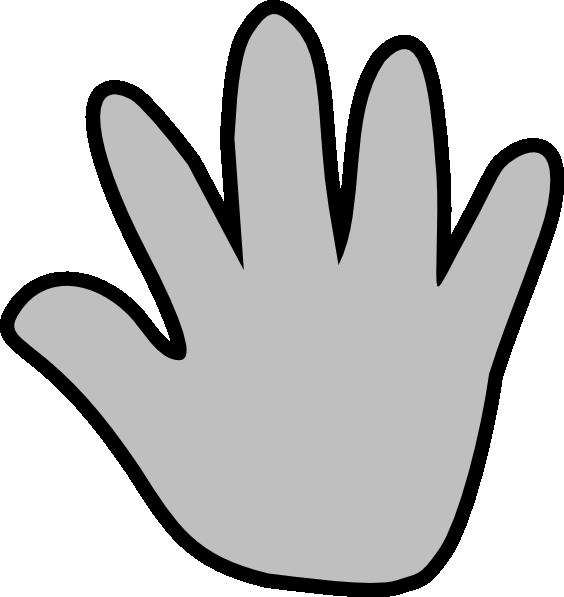 Handprint Outline - Cliparts.co