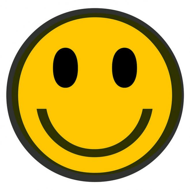 Happy Face Outline - ClipArt Best