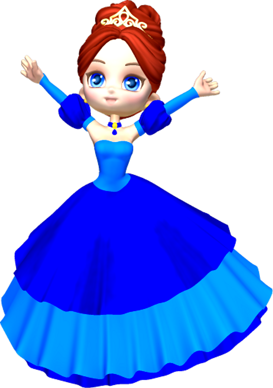 princess in blue clipart rh worldartsme com princess crown clipart free princess tiana clipart free