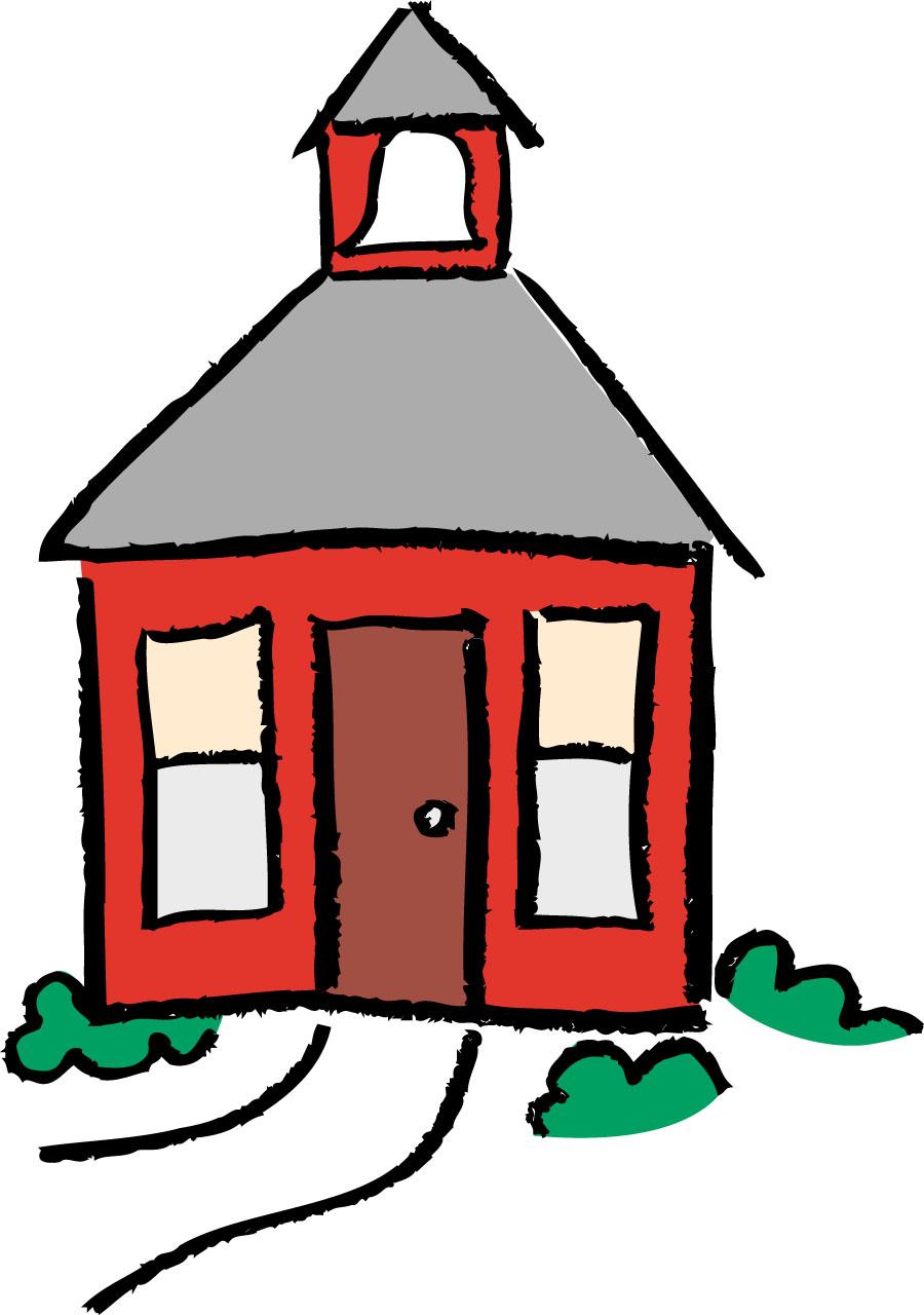 Cartoon School House - Cliparts.co