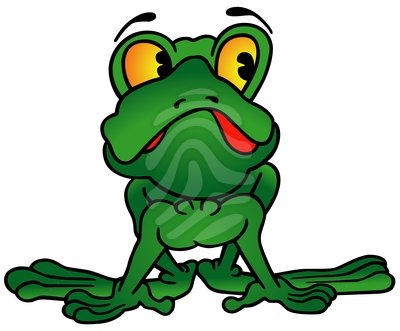 Green Frog Clipart Green Frog Clipart - C...