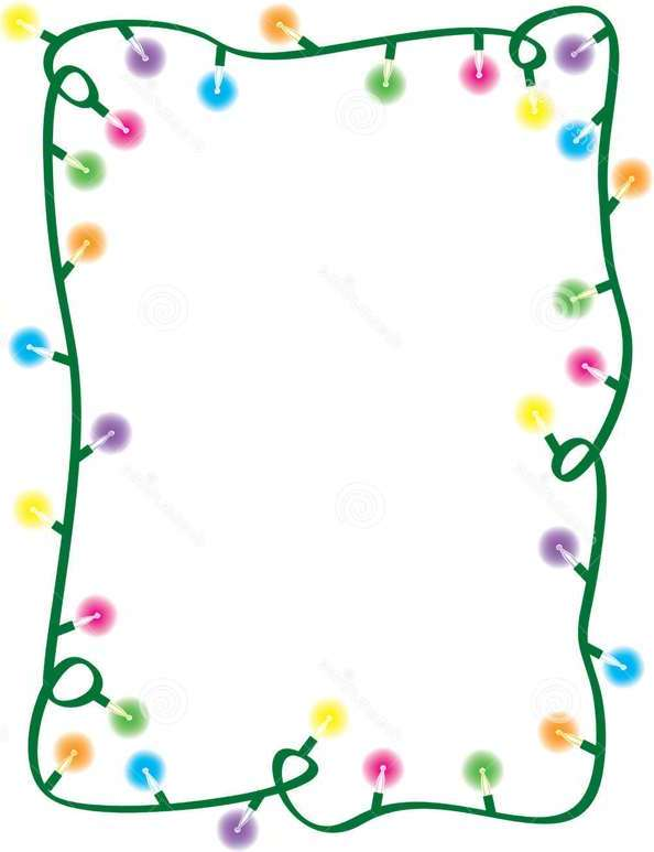 Christmas Light Borders - Cliparts.co