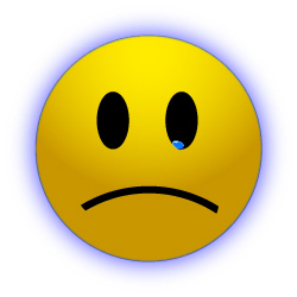 Disappointed Face Clipart Sad Animated Faces - ClipArt