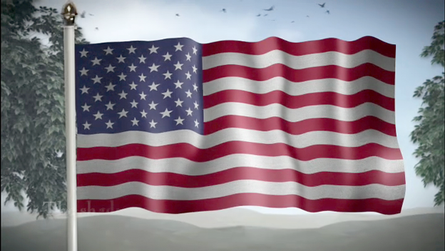 american flag essay paper