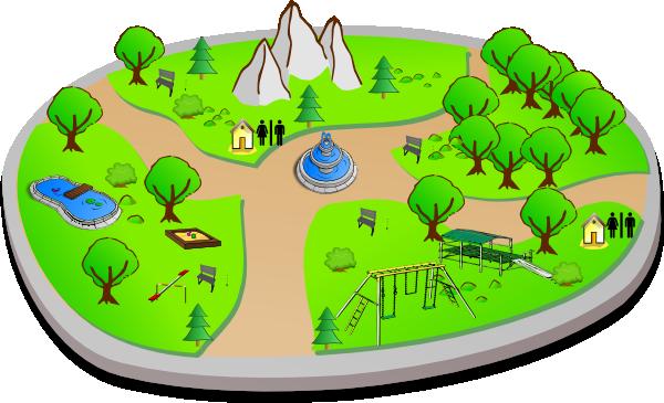 Park Cartoon - Cliparts.co