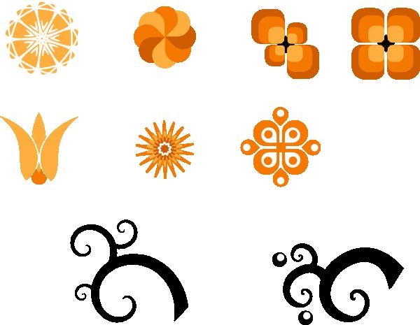 Flowers clip art - vector clip art online, royalty free & public ...