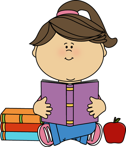 girl with books free clip art - photo #6
