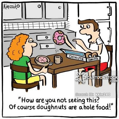 Donut Cartoons and Comics - funny pictures from CartoonStock