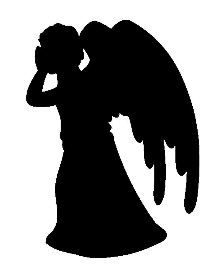 Doctor Who Weeping Angel Stencils | clothing ideas | Pinterest