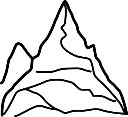 Cartoon Pictures Of Mountains